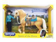 Breyer 1:9 Traditional Series Model Horse Set: Let's Go Riding, Western 9SIA0196YX5483