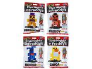 Five Nights at Freddy's 8-Bit Figures: Plush Bonnie, Freddy, Chica, Fredbear 9SIA01972E3488