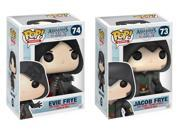 Assassin's Creed Funko POP Vinyl Figure Bundle: Evie Frye and Jacob Frye 9SIA01977K6290