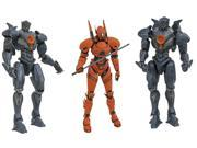 "Pacific Rim Uprising 7"""" Select Action Figure Series 1, Set of 3"" 9SIA0197B76794"