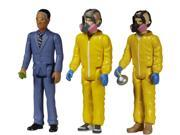 """Breaking Bad 3 3/4"""""""" ReAction Action Figure Bundle: Gus, Jesse & Walter (Cooks)"""" 9SIA0197BF9705"""
