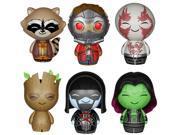 Guardians of the Galaxy Dorbz: Rocket, Groot, Drax, Gamora, Star-Lord, Ronan 9SIA0197DT2998