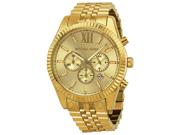 Michael Kors MK8281 Lexington Chronograph Champagne Dial Men's Watch