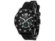 Invicta Signature II Nautical Black Dial Chronograph Mens Watch 7436