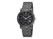 Burberry Chronograph Black Dial Black Ceramic Unisex Watch BU1771