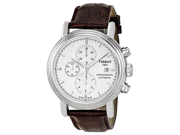 Tissot T-Classic Carson Chronograph Silver Dial Mens Watch T0684271601100