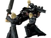Final Fantasy VII Advent Children Cloud Strife Fenrir Play Arts Action Figure 9SIA88C3XX8566