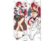 Gurren Lagann Yomako-Sensei & Future Yoko Body Pillow