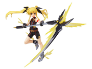 Magical Girl Lyrical Nanoha the Movie 2nd A's Fate Testarossa Sonic Form Ver. Figma Action Figure 9SIAD2459Z5460