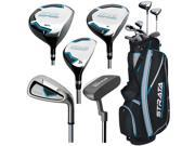 Callaway Ladies Strata Full Set 11-Piece RH #7 Clubs + 1 Stand Bag NEW