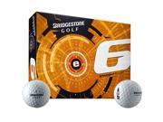 2015 Bridgestone E6 Golf Balls 1 Dozen 6EWX6D