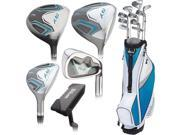 Wilson Ladies Tour RX Full Set RH 10 Clubs + Stand Bag Standard NEW