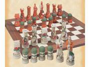 Cottage Garden Chessmen