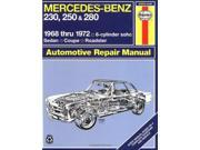 Mercedes Benz 230, 250 and 280, 1968-1972 / 6-Cylinder sohc / Sedan, Coupe, Road