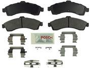 Bosch BE882H Blue Disc Brake Pad Set with Hardware