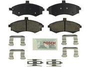 Bosch BE941H Blue Disc Brake Pad Set with Hardware