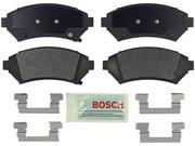 Bosch BE699H Blue Disc Brake Pad Set with Hardware