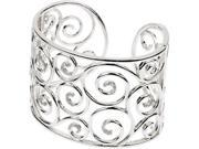 CleverSilver's Sterling Silver Diamond Bracelet 3/8 Ct Tw-