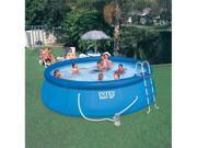"INTEX 15' x 48"" Easy Set Swimming Pool Kit w/ 1000 GPH GFCI Filter Pump"