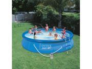 "INTEX 15' x 36"" Easy Set Swimming Pool Kit w/ 1000 GPH GFCI Filter Pump"