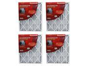 Honeywell CF100A1025-U 4.5-Inch High Efficiency Air Filter, 4 Pack 9SIA02D6K30081