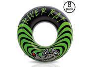 Intex River Rat Inflatable Tube (8 Pack)