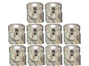 (10) Moultrie Xenon Strobe White Flash D-80 Mini 14MP Digital Trail Game Cameras thumbnail