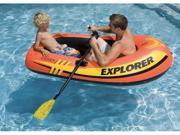 INTEX Explorer 200 Inflatable Two Person Raft Boat Set