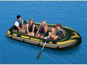 INTEX Seahawk 4 Inflatable Rafting/Fishing Boat Set