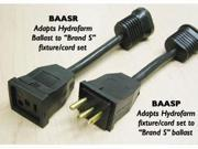 HYDROFARM BAASP Lamp Ballast Plug Adapter Cord Brand S