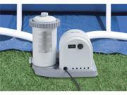 INTEX 1500 GPH Easy Set Pool Filter Pump w/Timer & GFCI