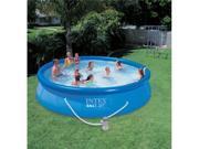 "INTEX 15' x 36"" Easy Set Swimming Pool Set with 1000 GPH Pump"