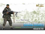"""1/6 """"""""Dhak Gurung"""""""" (GPMG Gunner) - Gurkha Infantry, 1st Battalion, 7th Duke of Ed"""" 9SIA6SV5VA4466"""