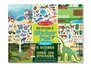 Melissa & Doug Habitat Reusable Sticker Pad (150+ stickers)