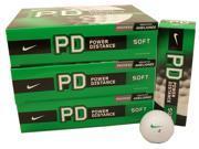 3 Dozen NEW Nike Power Distance Soft Golf Balls White 36 Total Retail: $75.00
