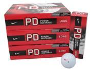 6 Dozen NEW Nike Power Distance Long Golf Balls White 72 Total Retail: $150.00