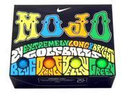 2 Dozen NEW 2015 Nike MOJO Golf Balls (1) 24 Pack Blue Orange Yellow Green
