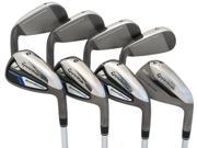 NEW TaylorMade SpeedBlade HL 4-PW+AW Irons Steel Uniflex