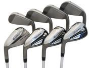 NEW Left Handed TaylorMade SpeedBlade HL 4-PW+AW Irons Steel Uniflex LH