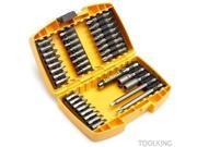 Dewalt 115-DW2163 37-Piece Screwdriving Bit Set with Tough Case
