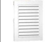 Canplas 626075-00 12-Inch X 18-Inch Rectangle Gable Vent, White
