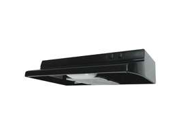 Air King America QZ2306 30 Inch Black Range Hood Ducted Convertible Under Cabine