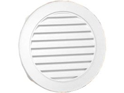 Vnt Gable 18In Polyp 55Sq-In CANPLAS INC Gable Vents 626053-00 White
