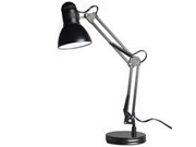 Boston Harbor TL-WK-134E-BK-3L Black Swing Arm Adjustable Desk Lamp