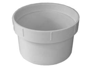 Genova Products Inc 41659 6-Inch PVC Fitting Cleanout Body Fitting Cleanout Body