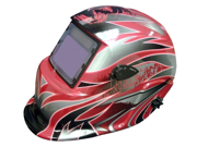 Titan 41267 Chrome Red Auto Darkening Welding Helmet 9SIA1B12SN1168