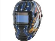 Titan 41265 Auto Darkening Welding Helmet, Eagle Design