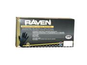SAS Safety 66518 Raven Nitrile Gloves Large
