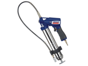 "Lincoln Lubrication 1162 Air Grease Gun Variable Speed Trigger, with 30"" Hose And Coupler"