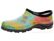Sloggers 5102BL08 Women's Waterproof Rain Shoes, Midsummer Blue - Size 8